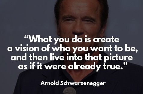 law of attraction success story - Arnold Schwarzenegge