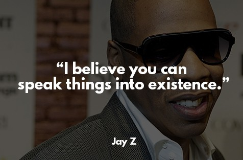 law of attraction success story - Jay Z