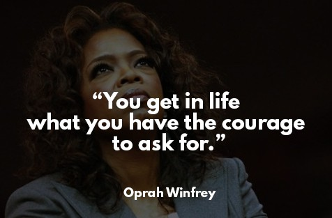 law of attraction success story - Oprah Winfrey
