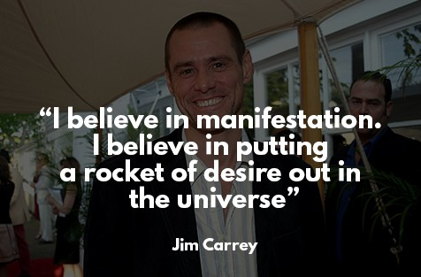 law of attraction success story - Jim Carrey