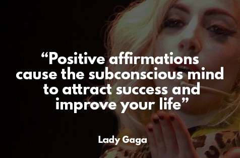 law of attraction success story - Lady Gaga