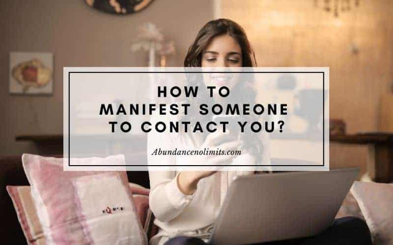 manifest someone to call you