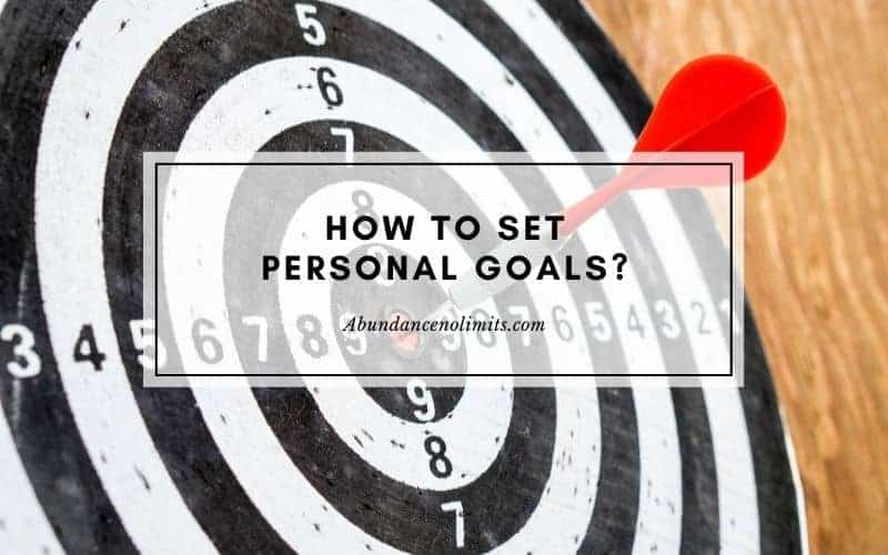 How to set personal goals