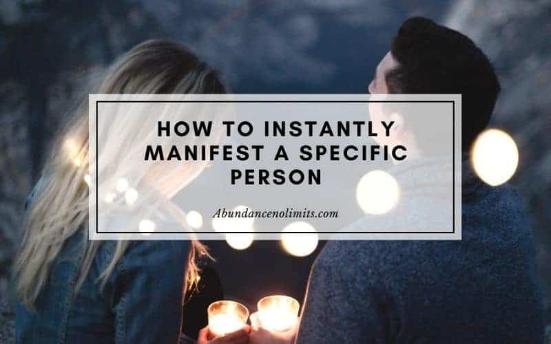 What Does It Mean to Manifest Someone?