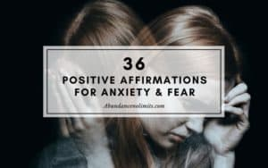 Affirmations for Anxiety and Fear