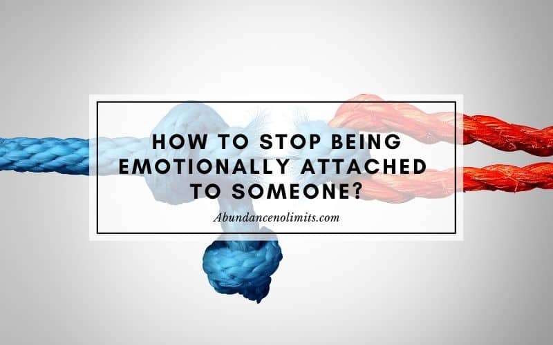 how to detach from emotions