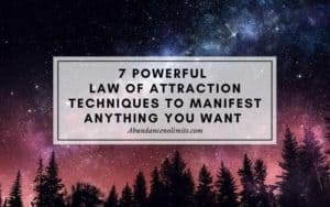 Law of Attraction Techniques