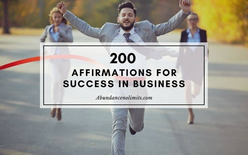Positive Affirmations for Success in Business