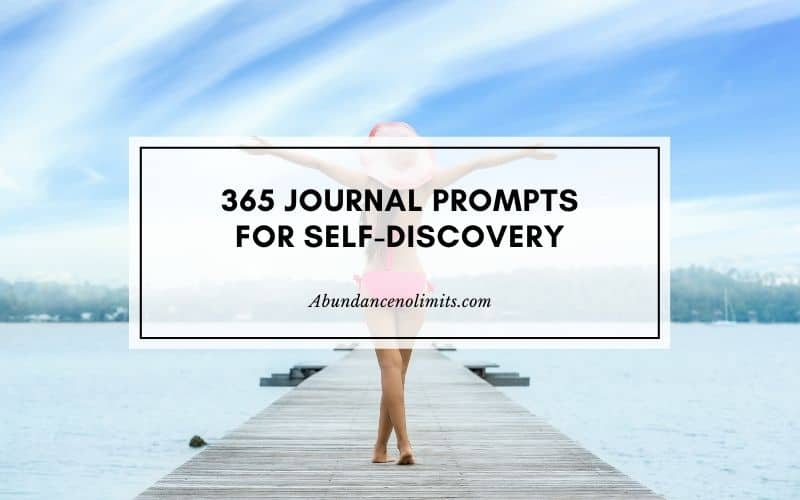 365 Journal Prompts for Self-discovery