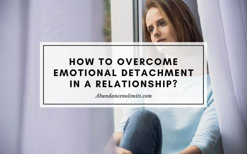 emotional detachment in a relationship