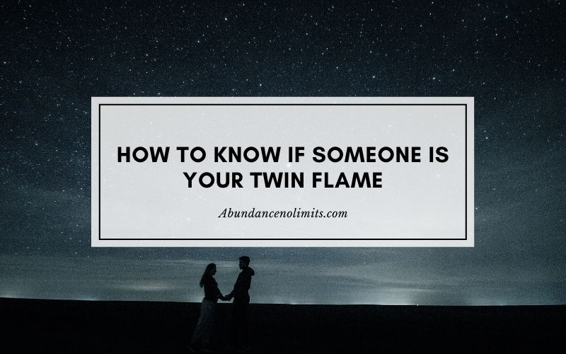 how to know if someone is your twin flame
