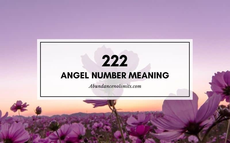 222 meaning relationship