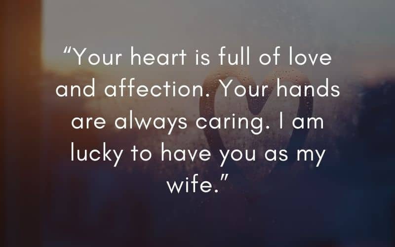 things you should say to your wife