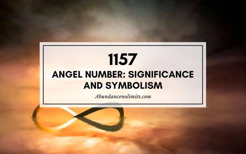 1157 Angel Number