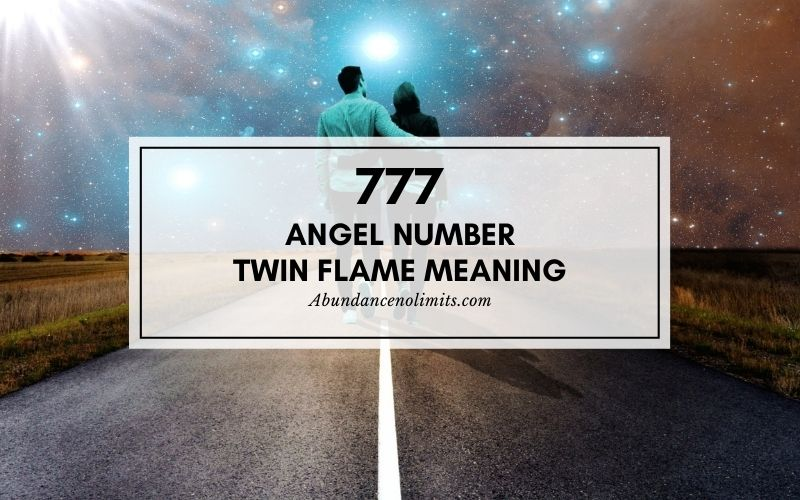 777 Angel Number Twin Flame Meaning