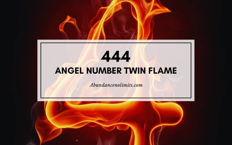 444 Angel Number Twin Flame