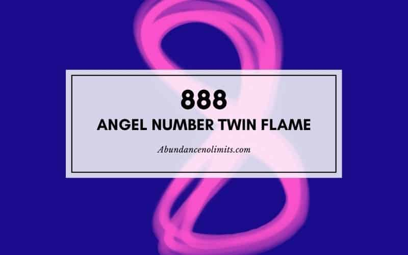 888 angel number twin flame