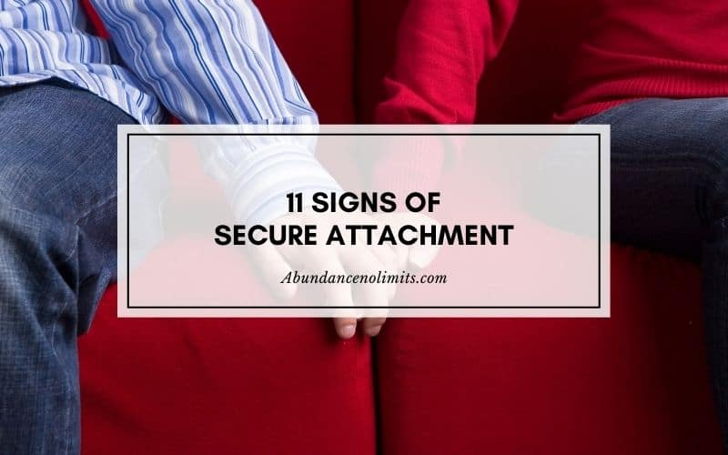 Signs of Secure Attachment in Adults