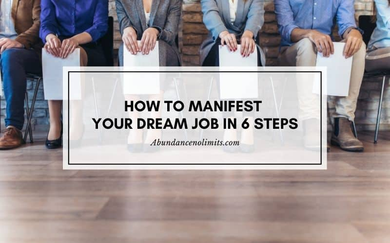 how to manifest your dream job