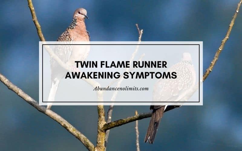 twin flame runner awakening symptoms